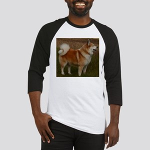 icelandic sheepdog full Baseball Jersey