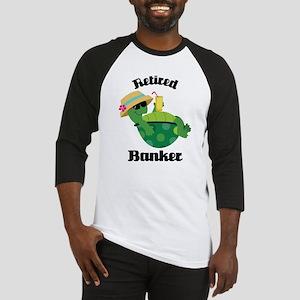 Retired Banker Gift Baseball Jersey