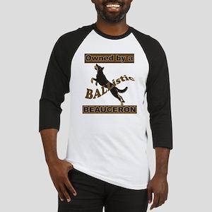 BALListic Beauceron portrait Baseball Jersey