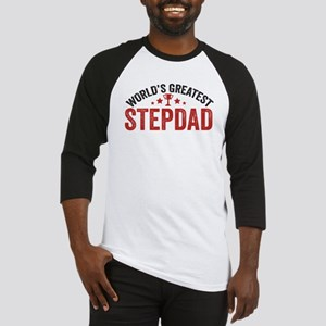 World's Greatest Stepdad Baseball Jersey