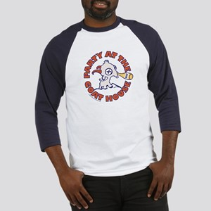 Party At The Goat House Baseball Jersey