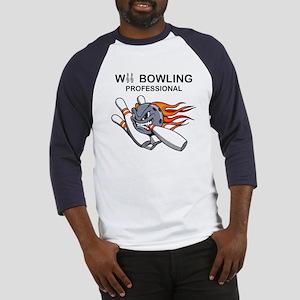 wii bowling professional Baseball Jersey