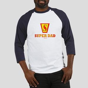Matching Super Dad Super Kid Baseball Jersey