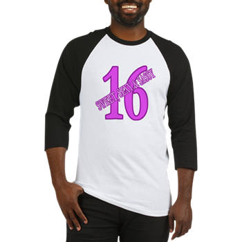 Sexy Sweet 16 Baseball Jersey 16th Birthday Gifts For Girls