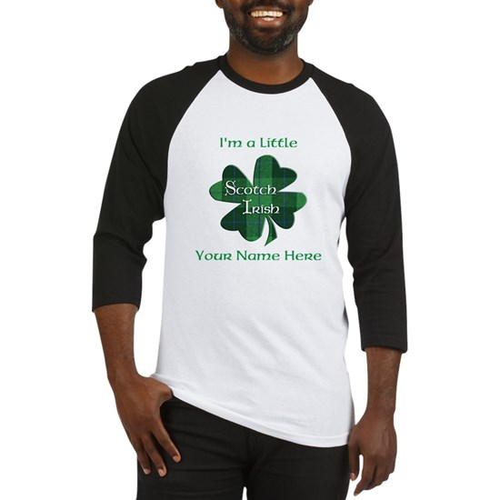 Green Plaid Scotch Irish Shamrock