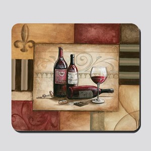 wine and chocolate 2 Mousepad