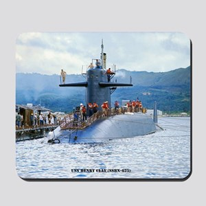 nc uss henry clay note card Mousepad