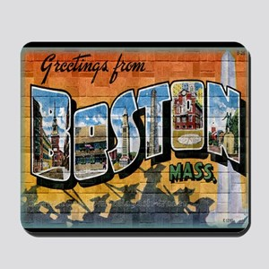Greetings from Boston Mousepad