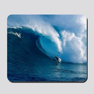 Big Wave Surfing Mousepad