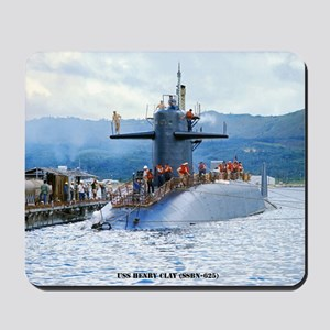 gc uss henry clay greeting card Mousepad