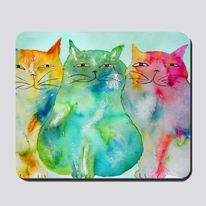 Haleiwa Cats 250 Mousepad