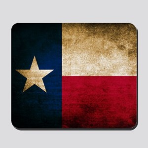 Vintage Flag of Texas Mousepad