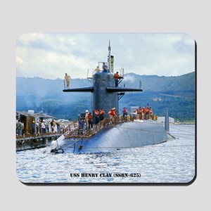 mp uss henry clay mini poster Mousepad