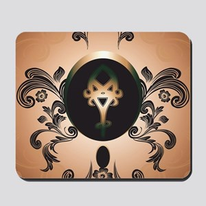 Insight, foresight rune Mousepad