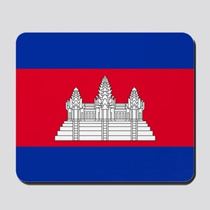 Flag of Cambodia Mousepad
