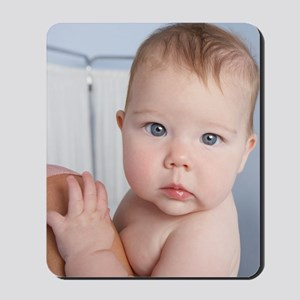Baby girl Mousepad