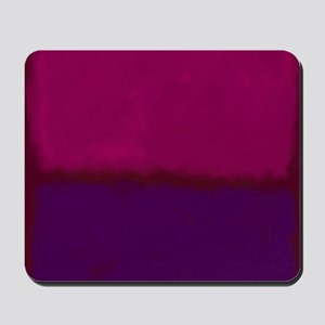 ROTHKO PURPLE HOT PINK Mousepad