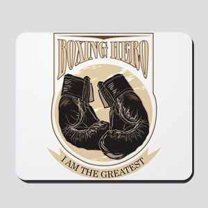 Boxing Hero - I am the greatest Mousepad
