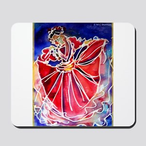 Fiesta Dancer, bright, art, Mousepad