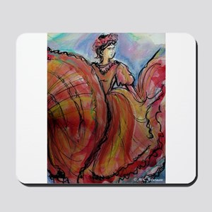 Fiesta, Dancer, Colorful, Mousepad