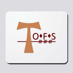OFS Secular Franciscan Order Mousepad