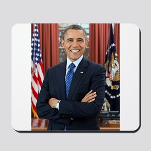 Official Presidential Portrait Mousepad
