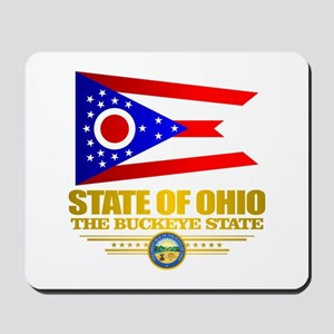 Ohio Flag Mousepad