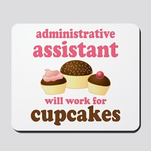 Funny Administrative Assistant Mousepad