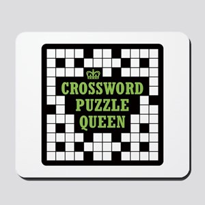 Crossword Queen Mousepad