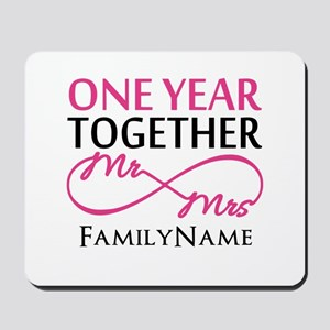 1st anniversary Mousepad