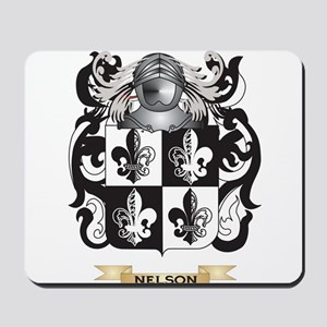 Nelson Coat of Arms (Family Crest) Mousepad