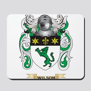 Wilson Family Crest (Coat of Arms) Mousepad