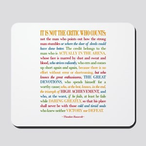 The Critic Mousepad