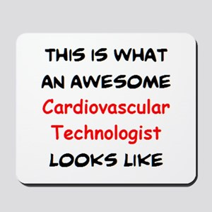 awesome cardiovascular technologist Mousepad