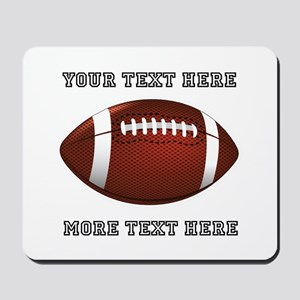 Personalized Football Mousepad