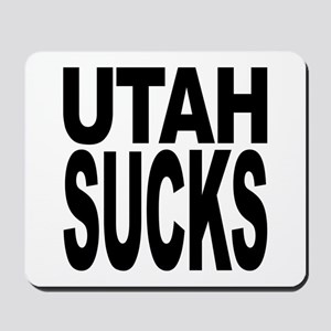 Utah Sucks Mousepad