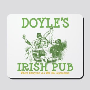 Doyle's Vintage Irish Pub Personalized Mousepad