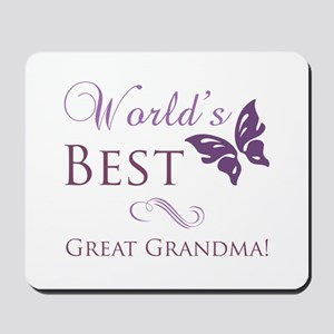 World's Best Great Grandma Mousepad