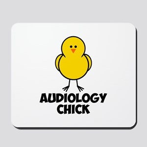 Audiology Chick Mousepad