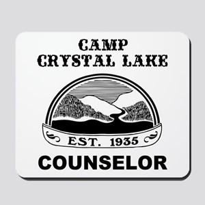 Camp Crystal Lake Counselor Mousepad