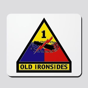 1st Armored Division Mousepad