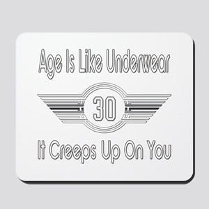 Funny 30th Birthday Mousepad