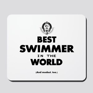 The Best in the World – Swimmer Mousepad