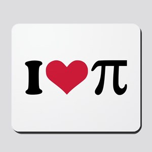 I love Pi Mousepad