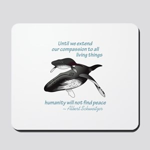 ALL LIVING CREATURES Mousepad