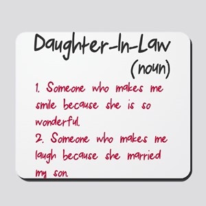 Daughter-in-law Mousepad