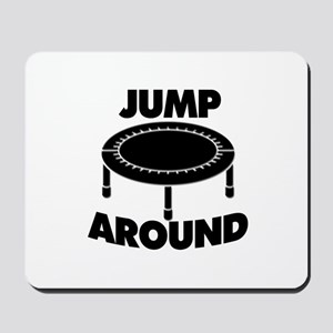 Jump Around Trampoline Mousepad