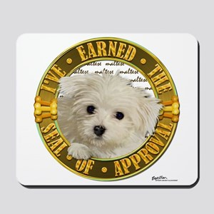 Maltese Puppy Mousepad