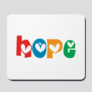 Hope_4Color_1 Mousepad