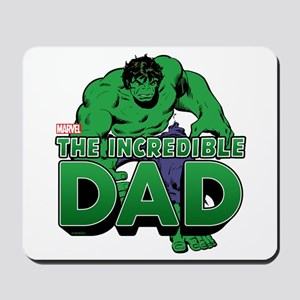 The Incredible Dad Mousepad